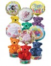 4514CL Get Well Bear Candyloons<br><font color=#365f97>$9.00 each (6 assorted pieces/pack)</font>