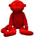 6581 Red Rainbow Monkey