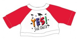 TG1303 YES! You Did It Tee<br><font color=#365f97>$2.00 each (6 pieces/pack)</font>
