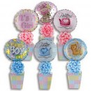 6670CL Baby Decorative Box Candyloons<br><font color=#365f97>$7.25 each (4 assorted pieces/pack)</font>