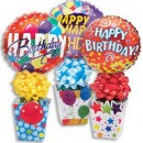 1557CL Birthday Decorative Box Candyloons<br><font color=#365f97>$7.25 each (4 assorted pieces/pack)</font>
