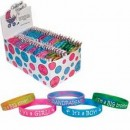 6714 Jumbo Assortment Welcome Bandz <br><font color=#365f97>$1.25 each (100 Pack)</font>