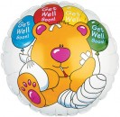 "114073 Get Well Soon Bear - 17"" <br><font color=#365f97>$1.75 each (5 pieces/pack)</font>"
