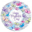 "114177 Mother's Day Butterflies Balloons - 17"" <br><font color=#365f97>$1.75 each (5 pieces/pack)</font>"