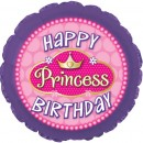 "114545 Happy Birthday Princess Balloons - 17"" <br><font color=#365f97>$1.75 each (5 pieces/pack)</font>"