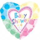 "214378 Baby Shower Balloons - 17"" <br><font color=#365f97>$1.75 each (5 pieces/pack)</font>"