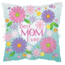 "414004 Best Mom Ever Balloons - 17"" <br><font color=#365f97>$1.75 each (5 pieces/pack)</font>"