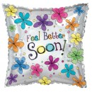 "414161 Feel Better Soon Balloons - 17"" <br><font color=#365f97>$1.75 each (5 pieces/pack)</font>"