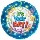 "114005 Its Your Day Balloons - 17"" <br><font color=#365f97>$1.75 each (5 pieces/pack)</font>"