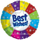 "114009 Best Wishes Balloons - 17"" <br><font color=#365f97>$1.75 each (5 pieces/pack)</font>"