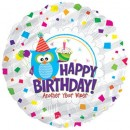 "114170 Happy Birthday Wiser Balloon - 17"" <br><font color=#365f97>$1.75 each (5 pieces/pack)</font>"