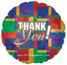 "114268 Thank You Balloons - 17"" <br><font color=#365f97>$1.75 each (5 pieces/pack)</font>"