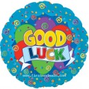 "114285 Good Luck Balloons - 17"" <br><font color=#365f97>$1.75 each (5 pieces/pack)</font>"