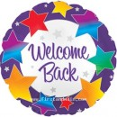"114611 Welcome Back Balloons - 17"" <br><font color=#365f97>$1.75 each (5 pieces/pack)</font>"