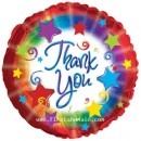 "114667 Thank You Balloons - 17"" <br><font color=#365f97>$1.75 each (5 pieces/pack)</font>"