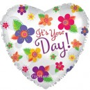 "214171 Its Your Day Balloons - 17"" <br><font color=#365f97>$1.75 each (5 pieces/pack)</font>"