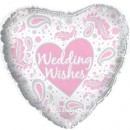 "214325 Wedding Wishes Balloons - 17"" <br><font color=#365f97>$1.75 each (5 pieces/pack)</font>"