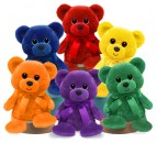 1462 Rainbow Bears<br><font color=#365f97>$3.75 each (6 assorted pieces/pack)</font>
