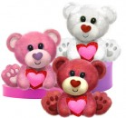 V1405 Buster Bears - 10&quot;<br><font color=#365f97>$10.50 each (3 assorted pieces/pack)</font>