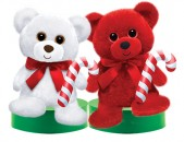 XS1465 Cubby Christmas - 10&quot;<br><font color=#365f97>$9.50 each (2 assorted pieces/pack)</font>