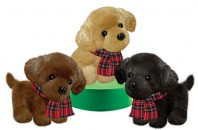 XS3314 Wuffles Puppy Buddies<br><font color=#365f97>$8.00 each (3 assorted pieces/pack)</font>