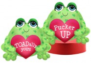 V5414 Toadles<br><font color=#365f97>$7.75 each (2 assorted pieces/pack)</font>