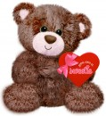 V0014 Neapolitan Bear Brown - 7""