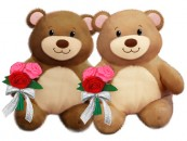 V1855 Buddy Bears - 10&quot;<br><font color=#365f97>$10.25 each (2 assorted pieces/pack)</font>