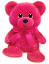 1488 Hot Pink Rainbow Bear - 6&quot;<br><font color=#365f97>$3.75 each (3 pieces/pack)</font>