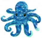 7645 Under the Sea Octopus - 10""