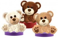1405 Buster Bears - 10&quot;<br><font color=#365f97>$10.50 each (3 assorted pieces/pack)</font>