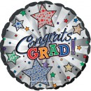 "114356 Graduation White and Pearl Stripes - 17"" <br><font color=#365f97>$1.75 each (5 pieces/pack)</font>"