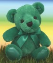 1583 Green Rainbow Bear<br><font color=#365f97>$3.75 each (3 pieces/pack)</font>